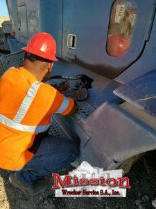 Heavy Towing San Antonio Team Member Moving Fuel