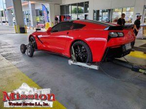 Heavy Duty Towing Corvette